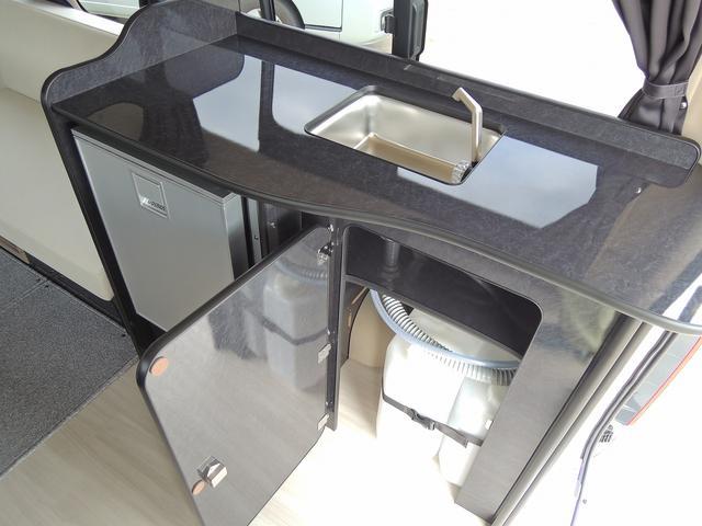 トヨタ ハイエースバン FOCS アリゼ 冷蔵庫 シンク 二段ベット