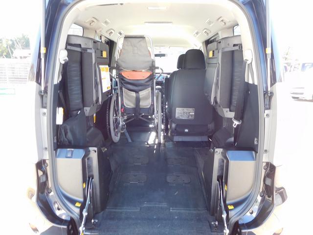 トヨタ ヴォクシー 福祉車両 スロープ 両側パワースライドドア 電動ウィンチ