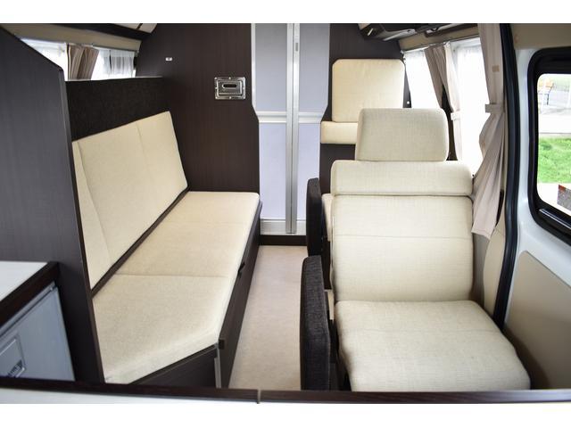 キャンピングカー カントリークラブ 4WD テレビ 冷蔵庫(8枚目)