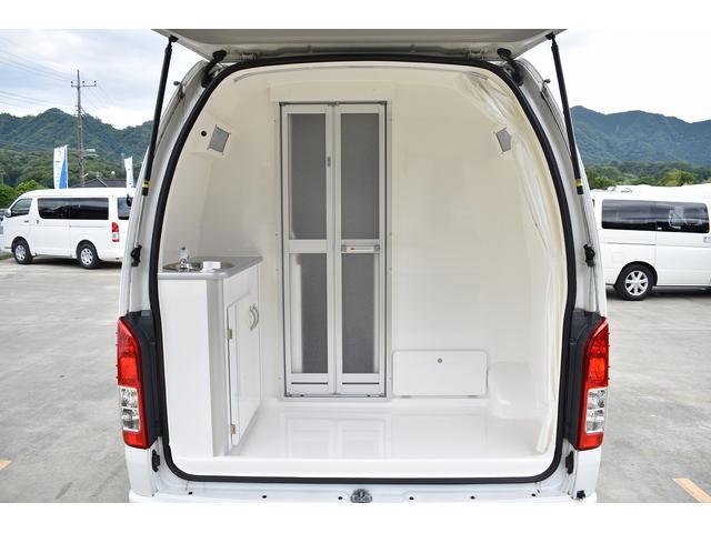 キャンピングカー カントリークラブ 4WD テレビ 冷蔵庫(17枚目)