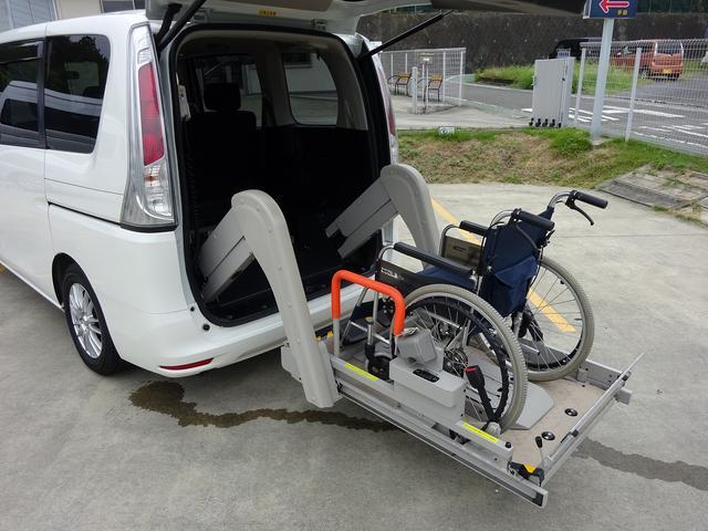 福祉車両 チェアキャブ リアリフト 電動リフト(9枚目)