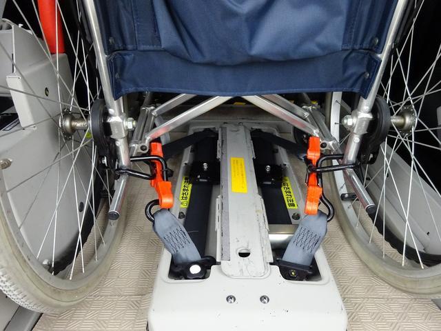 福祉車両 チェアキャブ リアリフト 電動リフト(11枚目)
