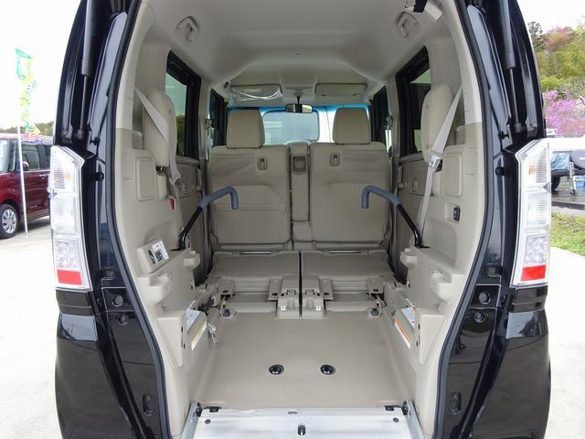 アルマス福祉車両 スロープ 電動ウィンチ固定 ナビ スマキー(4枚目)