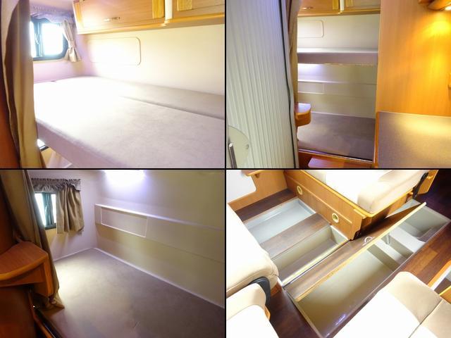 ベースグレード YMS レガード FFヒーター プルダウンベッド DC冷蔵庫 サイドオーニング ギャレーシンク カセットトイレ インバータ(6枚目)