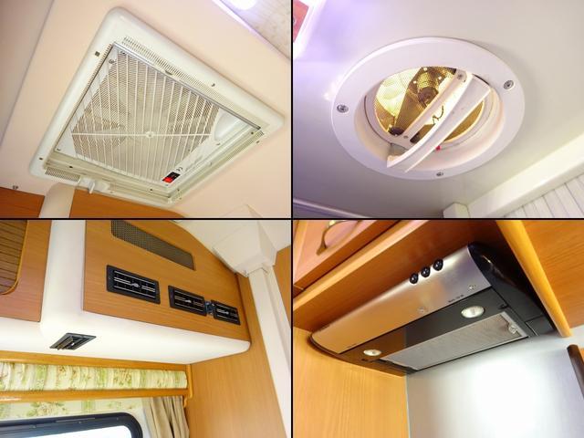ベースグレード YMS レガード FFヒーター プルダウンベッド DC冷蔵庫 サイドオーニング ギャレーシンク カセットトイレ インバータ(7枚目)