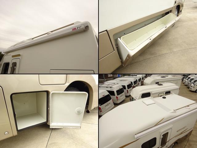 ベースグレード YMS レガード FFヒーター プルダウンベッド DC冷蔵庫 サイドオーニング ギャレーシンク カセットトイレ インバータ(17枚目)