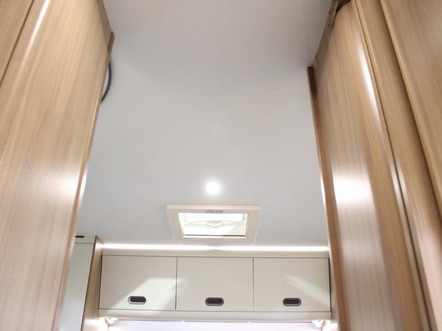 デュカト サンリビングS70CS ルーフエアコン 温水ボイラー 温水シャワー FFヒーター 冷蔵庫 プルダウンベッド アイランドベッド 独立トイレ・シャワールーム(49枚目)