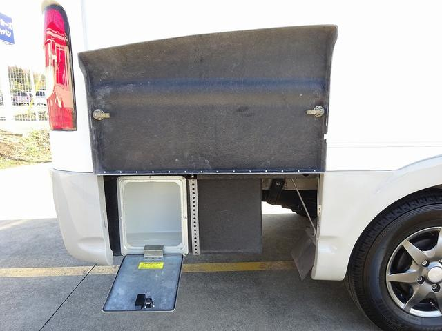 キャンピングカー キャブコン AtoZ アレン FFヒーター 1500Wインバーター 冷蔵庫 電子レンジ サブBT 走行充電 外部電源・充電 キーレス ナビ Bカメラ ETC 後席モニター(34枚目)