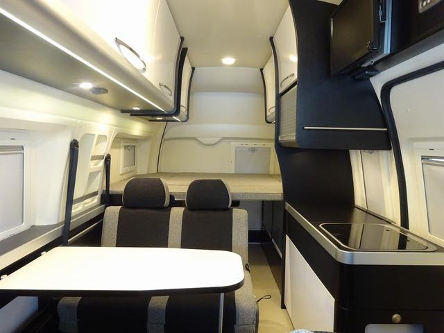 キャンピングカー バンコン ハイエース トイファクトリー バーデン アルタモーダ ソーラー FFヒーター 1500Wインバーター オーニング レンジ 冷蔵庫 ツインサブBT レカロシート(2枚目)