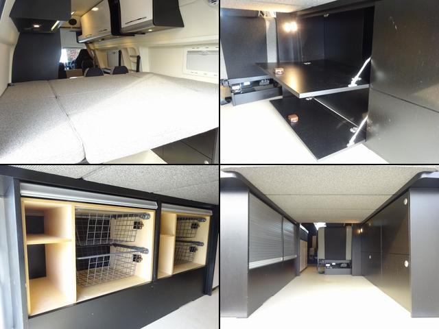 キャンピングカー バンコン ハイエース トイファクトリー バーデン アルタモーダ ソーラー FFヒーター 1500Wインバーター オーニング レンジ 冷蔵庫 ツインサブBT レカロシート(8枚目)