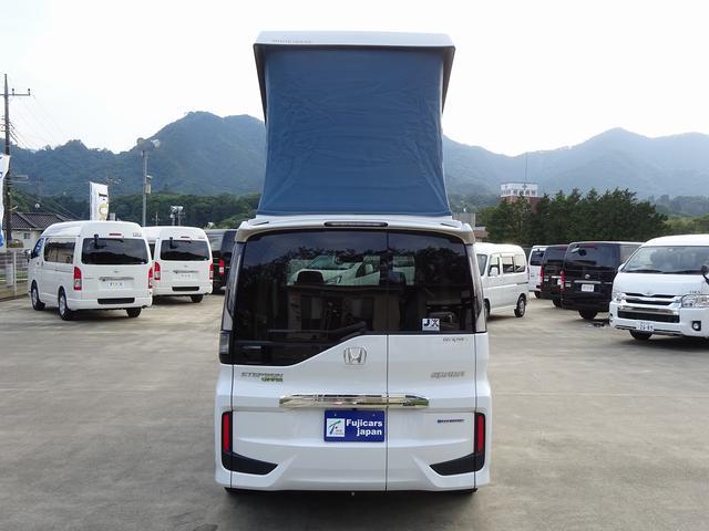 キャンピングカー バンコン ホワイトハウス デッキワン ポップアップルーフ サブバッテリーシステム 走行充電システム FFヒーター ナビ電源SW ホンダセンシング・安全運転支援システム(29枚目)