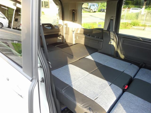 キャンピングカー バンコン ホワイトハウス デッキワン ポップアップルーフ サブバッテリーシステム 走行充電システム FFヒーター ナビ電源SW ホンダセンシング・安全運転支援システム(63枚目)