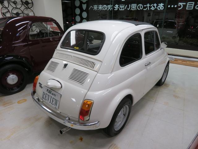 「フィアット」「チンクチェント」「コンパクトカー」「神奈川県」の中古車5