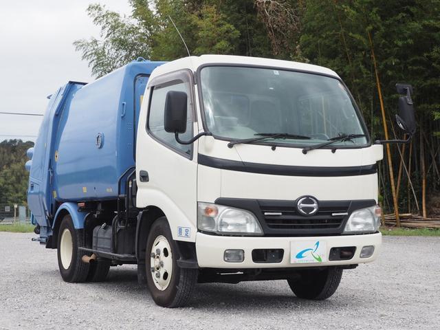 プレス式パッカー車 極東製4.2立米 5速マニュアル(7枚目)