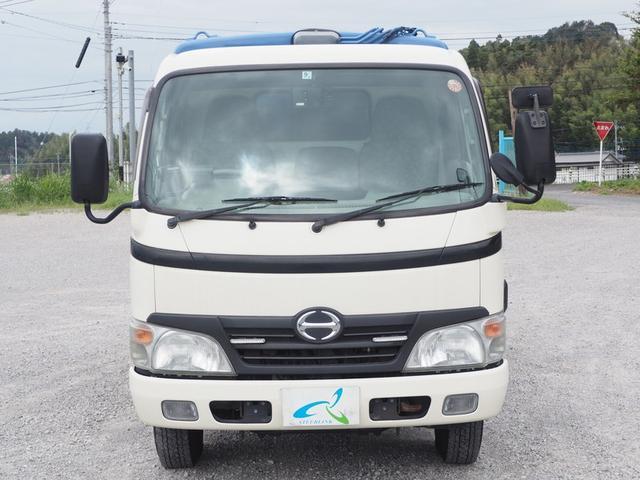 プレス式パッカー車 極東製4.2立米 5速マニュアル(8枚目)