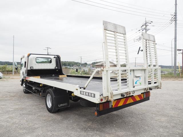 車載車 積載3トン ワイドボデー スムーサー 歩み板付き(6枚目)