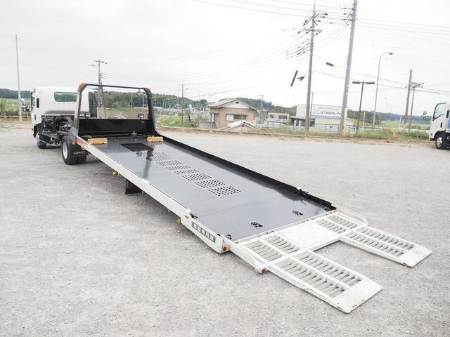 車載車 積載3トン ワイドボデー スムーサー 歩み板付き(15枚目)