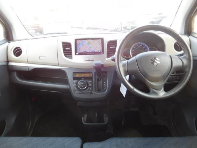 スズキ ワゴンR FXリミテッド 社外ナビ ワンセグ アイドリングストップ