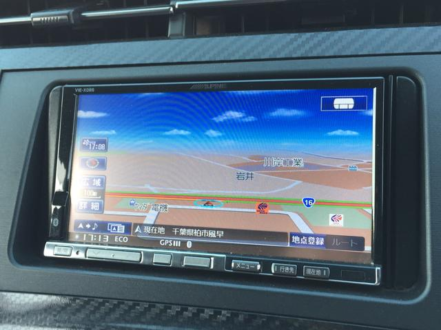 Sツーリングセレクション・G's 社外HDDナビ CD DVD再生 バックカメラ 地デジTV  HIDオートライト クルーズコントロール スペアキー ETC 純正18インチAW(3枚目)