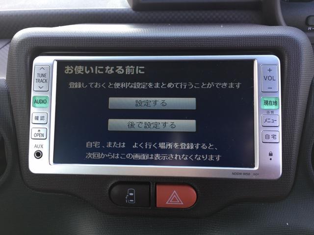 トヨタ スペイド X ワンセグ DVD再生 ETC DVDナビ キーレス CD