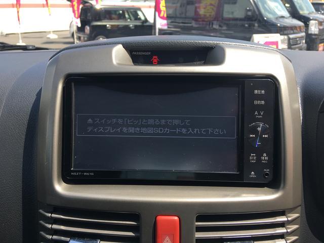 トヨタ ラッシュ Xスマートエディション・社外SDナビ ETC フルセグTV