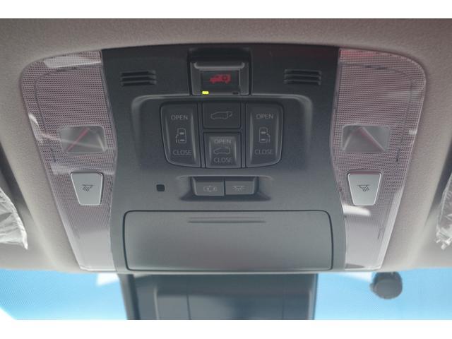 【両側パワースライドドア】予約ロック機能付きのパワースライドドア/パワーバックドア装備。運転席から操作も可能です。