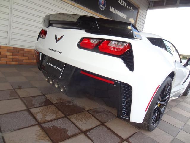 シボレー シボレー コルベット Z06 Z07PKG 正規D車 レッド革シート