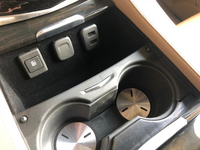 左のスイッチがクールボックスのスイッチです。USBも二口センターはシガーソケット。アメリカの車って電源とる所が沢山あって助かります。