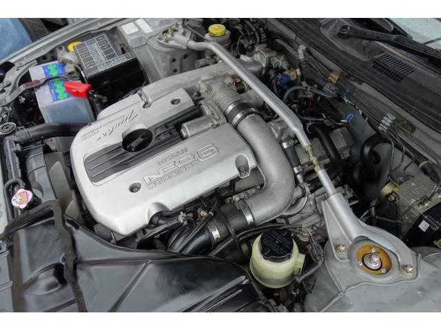 RB25DET2500ccターボ純正5速MT280馬力!!エンジンセル一発始動で調子良いです!!吸排気ノーマルなので状態良いですよ!ベース車両にもってこいな一台です!!