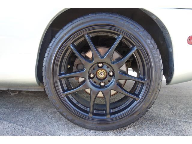 RAYS 17インチアルミホイール装備!(約25万円)改造多数!ビルシュタインショック!!このお車はボディー剛性が強化されている特別使用車になっております!安心の保証付き!