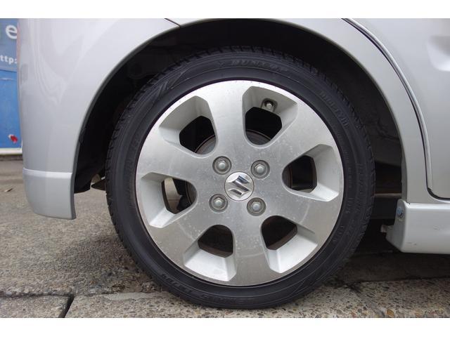 ■MH21S後期型純正14インチアルミホイール装備!タイヤは安心のダンロップタイヤ装備!!
