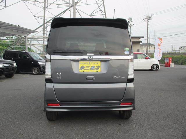 ホンダ N BOXカスタム G・Lパッケージ 社外ナビTV 左電動スライド スマートキー
