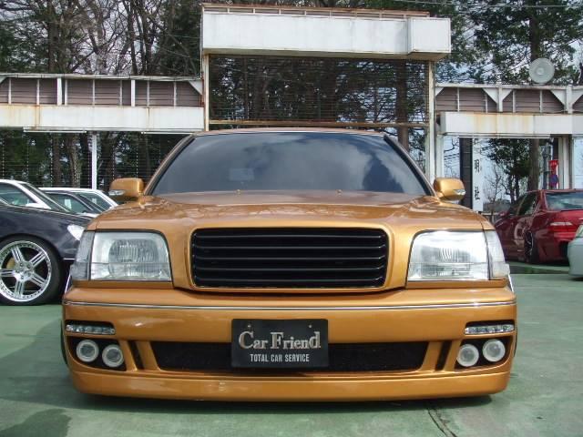 トヨタ クラウンマジェスタ Aタイプ ワンオフエアロ シュバートAW 車高調 色替車