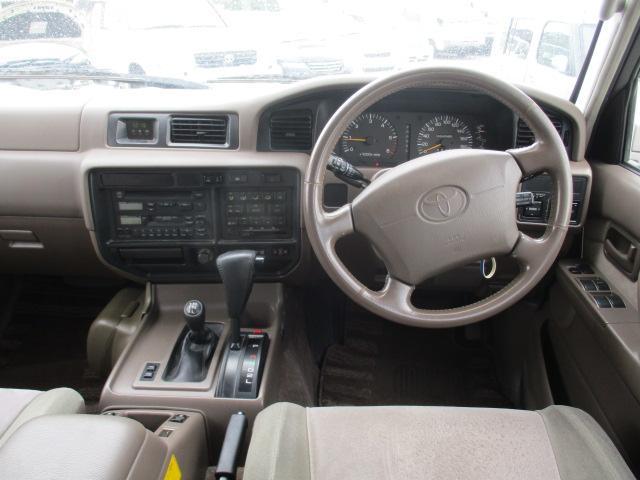 トヨタ ランドクルーザー80 アクティブバケーション サンルーフ 8ナンバーキャンピング