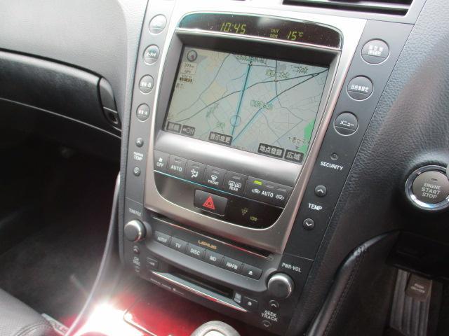 GS430 車高調 レイティブ19AW HDDナビ 本革(20枚目)