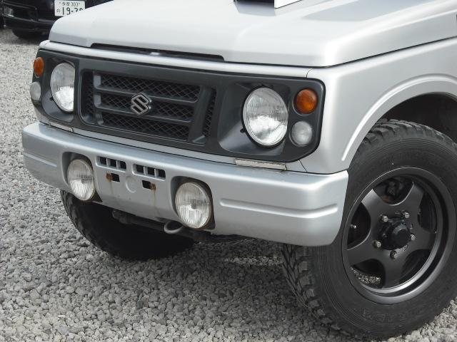 ランドベンチャー 4WDターボ パワステ 社外16AW マッドガード ルーフラック(6枚目)