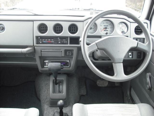 ランドベンチャー 4WDターボ パワステ 社外16AW マッドガード ルーフラック(18枚目)