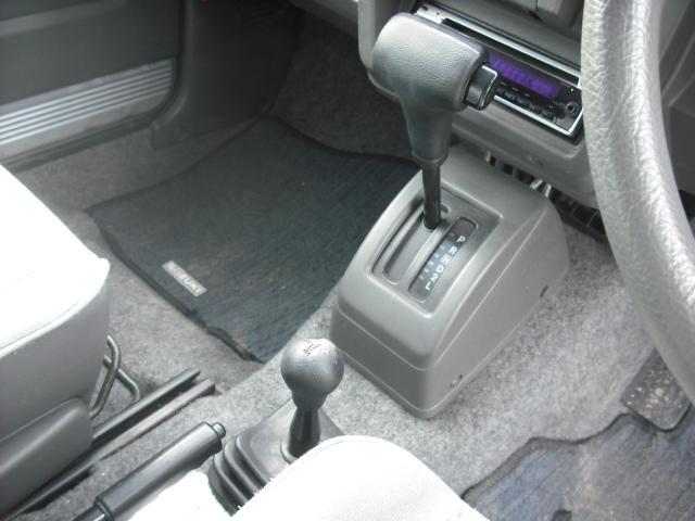 ランドベンチャー 4WDターボ パワステ 社外16AW マッドガード ルーフラック(19枚目)