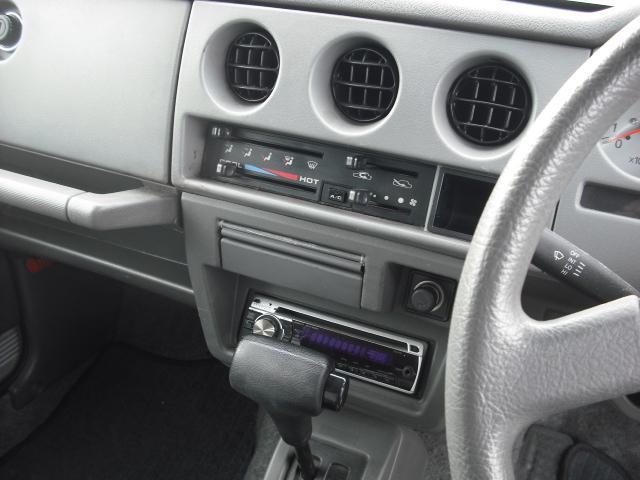 ランドベンチャー 4WDターボ パワステ 社外16AW マッドガード ルーフラック(21枚目)