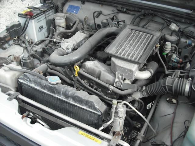 ランドベンチャー 4WDターボ パワステ 社外16AW マッドガード ルーフラック(25枚目)