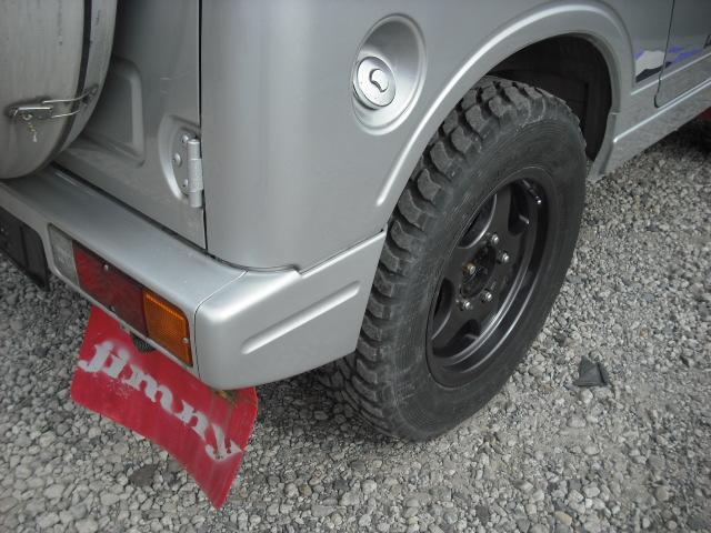 ランドベンチャー 4WDターボ パワステ 社外16AW マッドガード ルーフラック(27枚目)