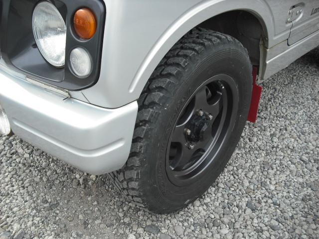 ランドベンチャー 4WDターボ パワステ 社外16AW マッドガード ルーフラック(28枚目)