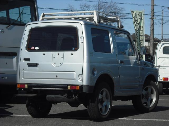 ワイルドウインドリミテッド 4WDターボ FRバンパー ルーフラック 黒革調シートカバー AW(7枚目)