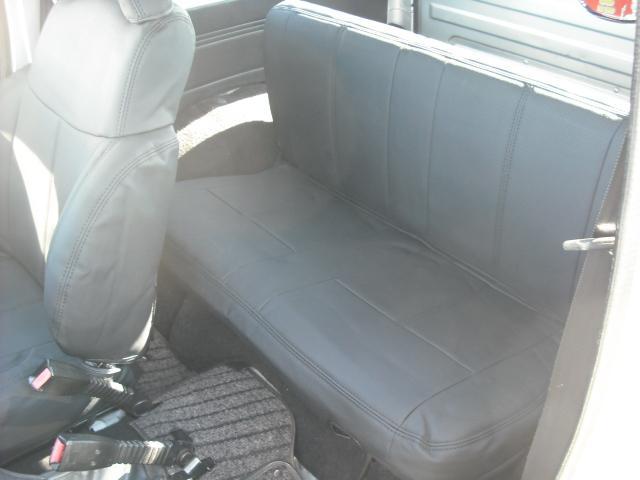 ワイルドウインドリミテッド 4WDターボ FRバンパー ルーフラック 黒革調シートカバー AW(16枚目)
