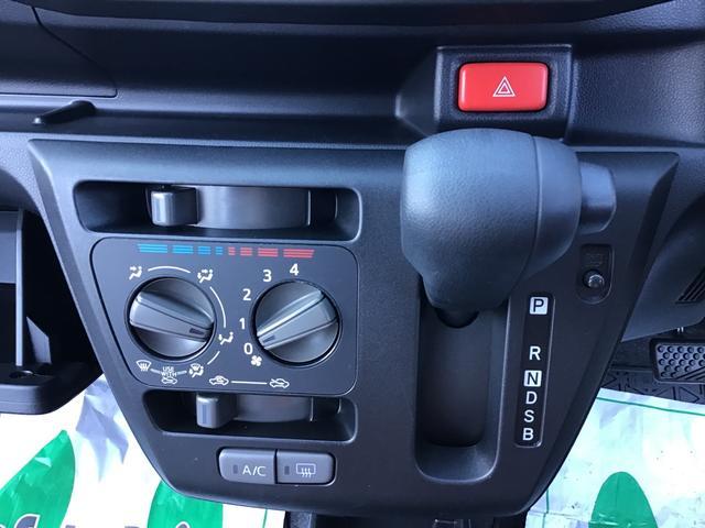 マニュアルエアコンは体感的に温度や風量をお好みに応じて簡単に調整できます♪
