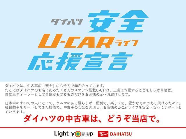 L SAIII 自社リースアップ車/キーレス/マニュアルエアコン/コーナーセンサー/ハロゲンヘッドライト/オートライト(63枚目)