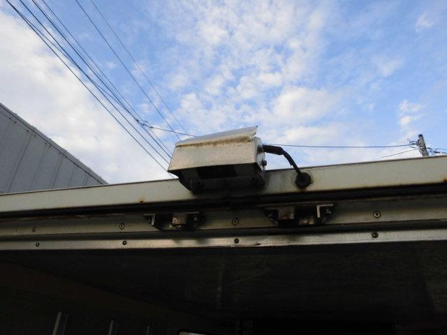 日産 バネットトラック 冷凍冷蔵車 バックカメラ