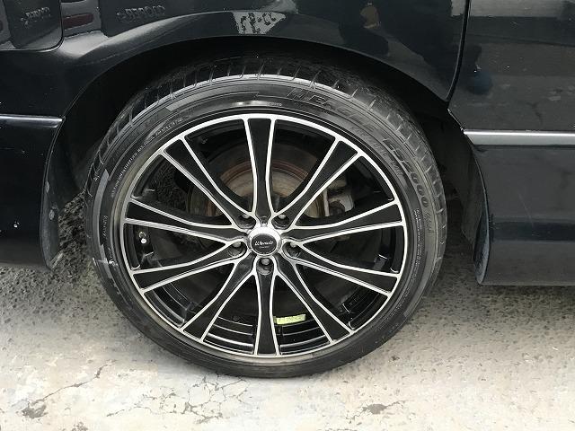 日産 エルグランド ハイウェイスター 19インチアルミ ヒッチメンバー 新タイヤ