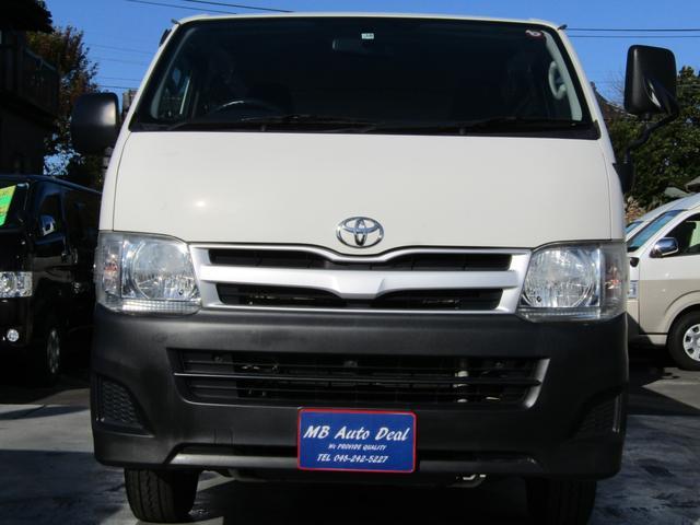平成23年10月登録 / 型式LDF-KDH206V / 4ナンバー / 小型貨物車 / 車検整備付 / 3000cc / 6人乗 / ディーゼル車 / 4WD