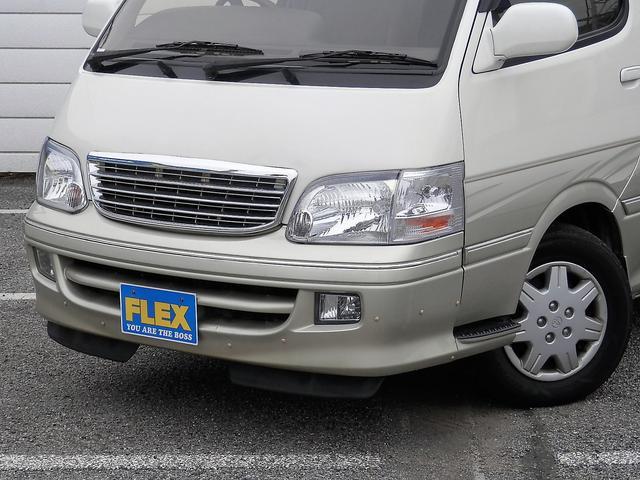トヨタ ハイエースワゴン リビングサルーンEX トリプルムーンルーフ パールツートン